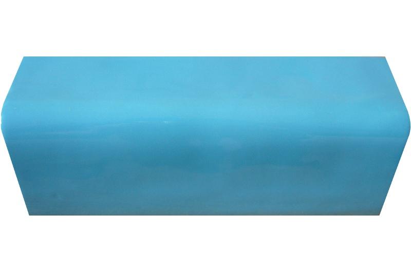 Zakonczenie, gzyms niebieski
