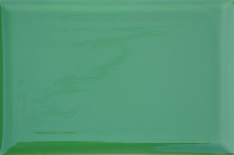 Kafle zielone kwadratele 195 x 130 mm