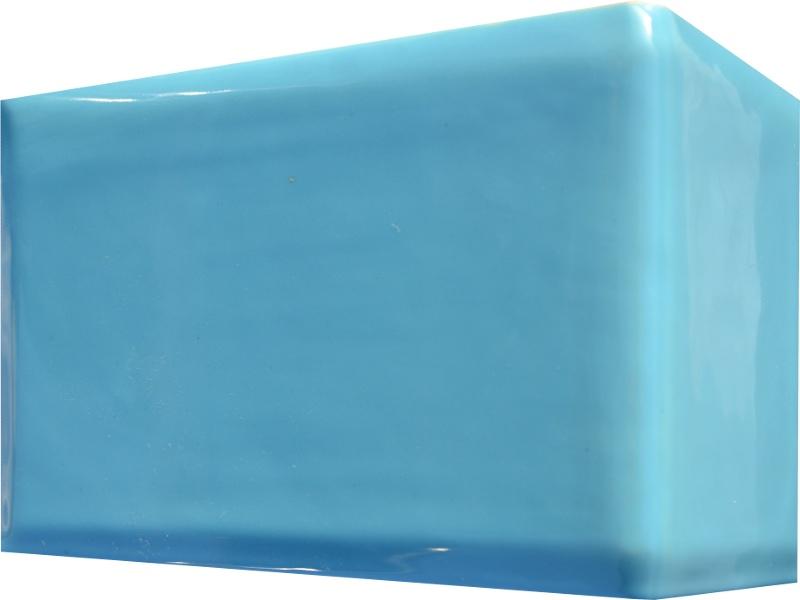 Kafle niebieskie rogowe kwadratele 195 x 130 mm