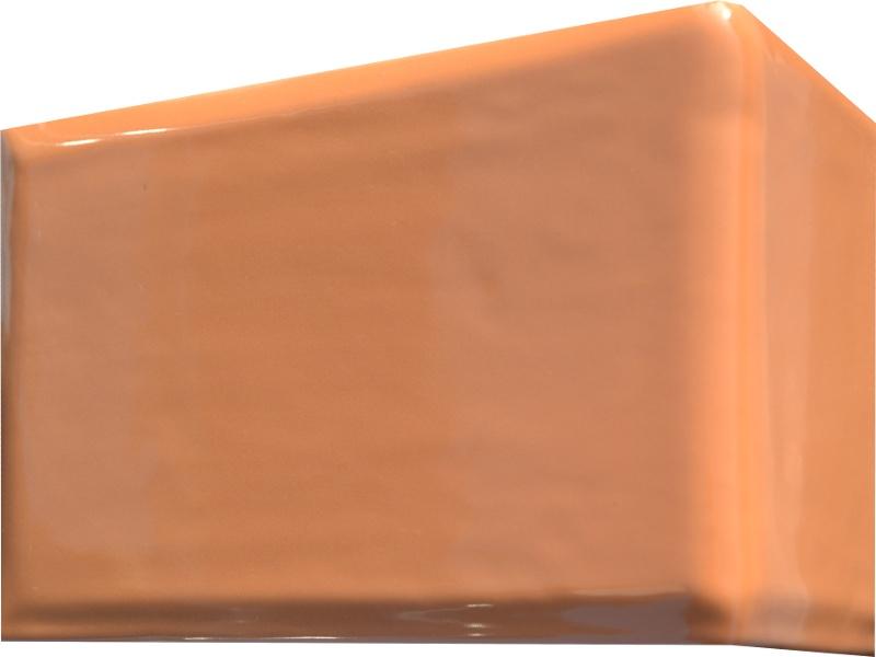 Kafle bezowe rogowe kwadratele 195 x 130 mm