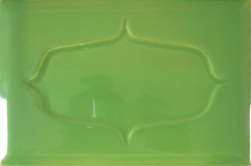 Kafle zielone barok