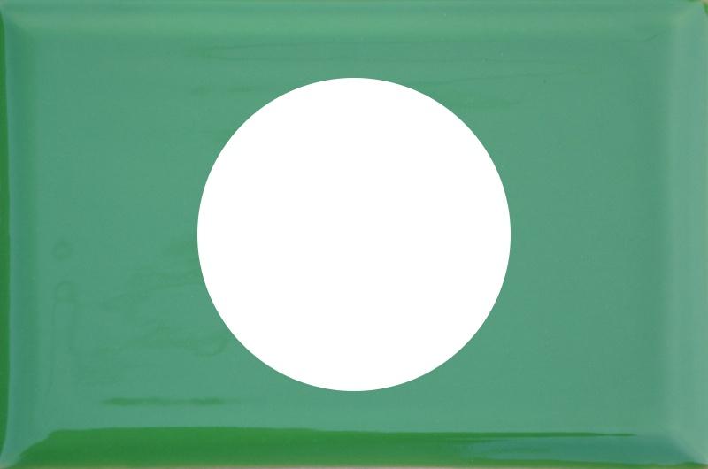Kafel pod korek zielony