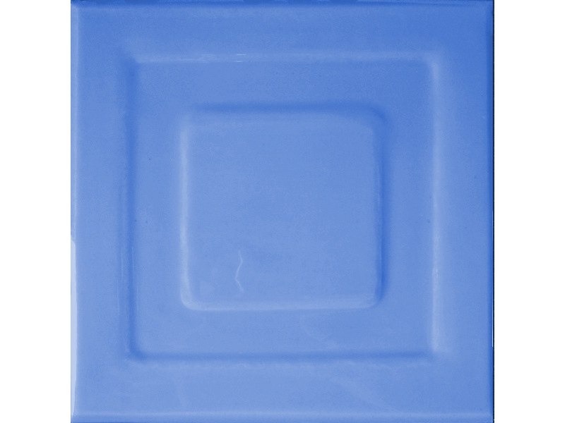 Kafle niebieskie z wzorem pasek kwadratu