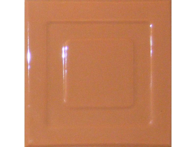 Kafle bezowe z wzorem pasek kwadratu