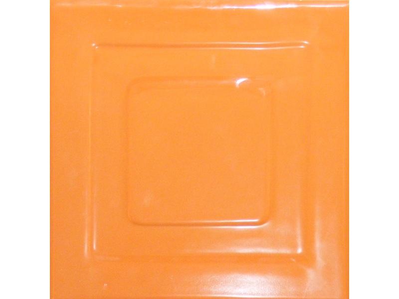 Kafle brazowe z wzorem pasek kwadratu