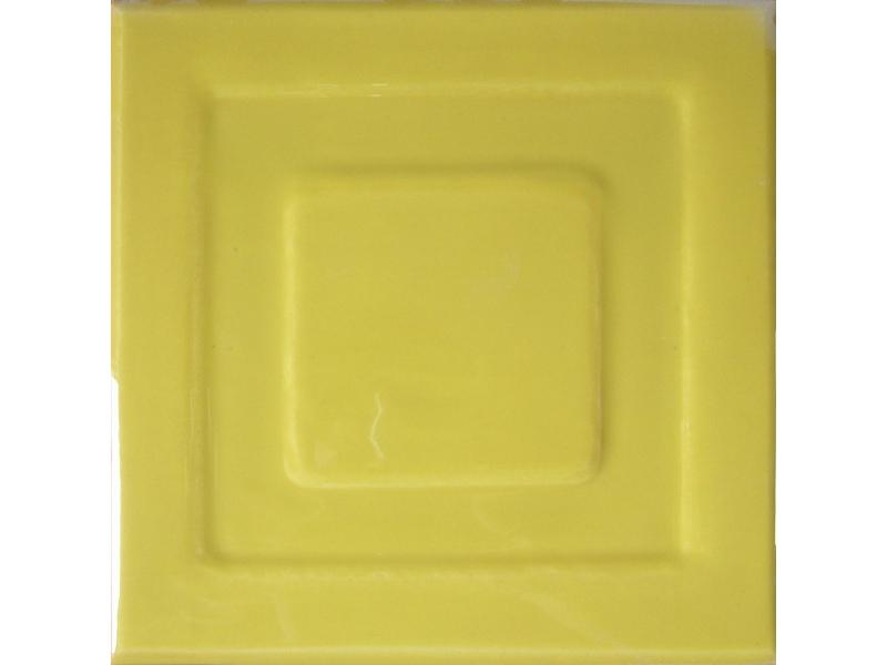 Kafle miodowe z wzorem pasek kwadratu
