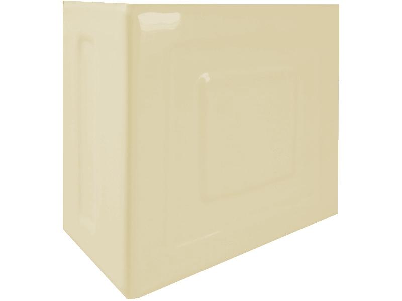 Kafle ekri rogowe z wzorem pasek kwadratu