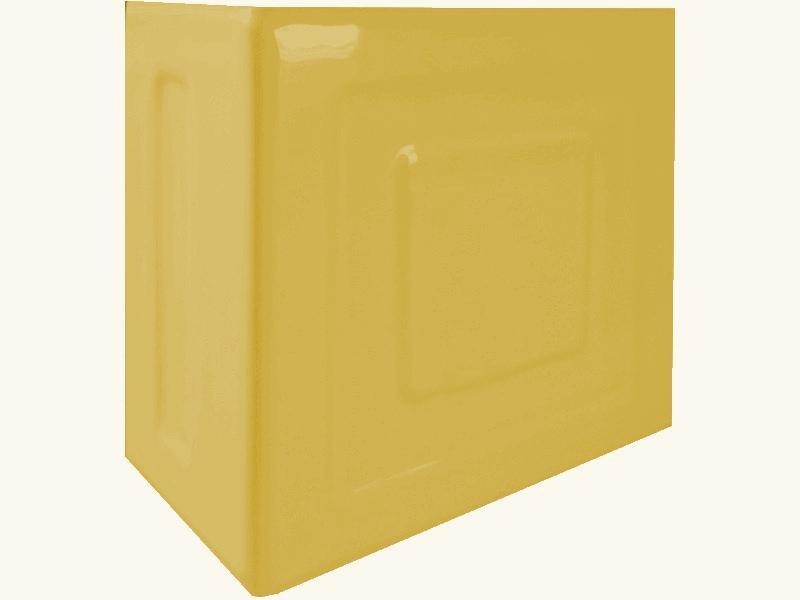 Kafle miodowe rogowe z wzorem pasek kwadratu