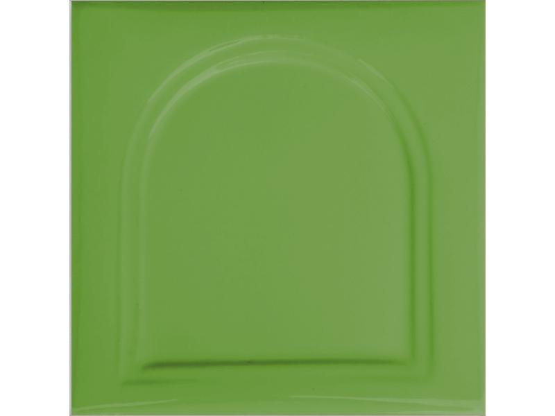 Kafle zielone kapliczka