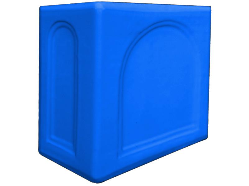Kafle niebieskie rogowe kapliczka