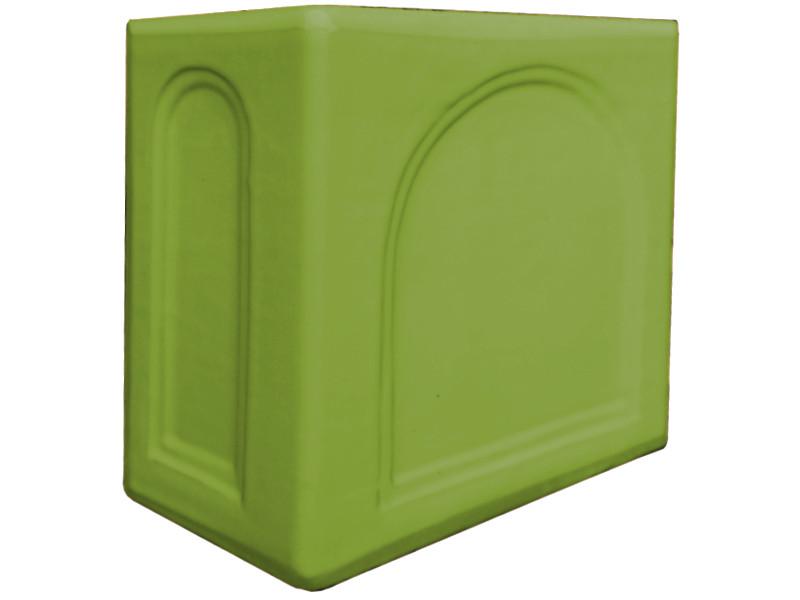 Kafle zielone rogowe kapliczka