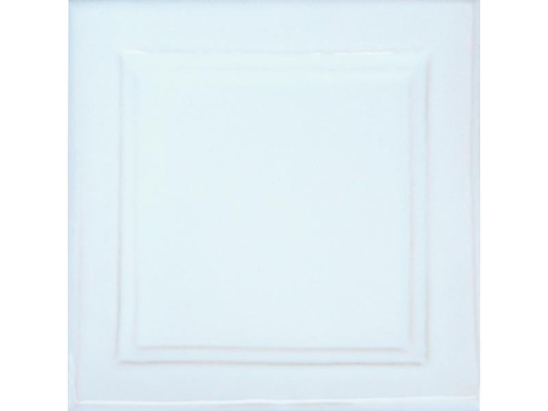 Kafle biale z wzorem duzy kwadrat