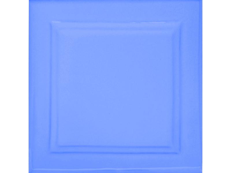 Kafle niebieskie z wzorem duzy kwadrat