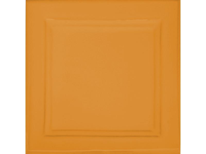 Kafle brazowe z wzorem duzy kwadrat