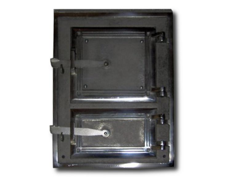 Drzwiczki kuchenne nr 2 chromo-nikiel