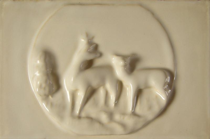 Kafle 3D sarny jednolite szkliwo