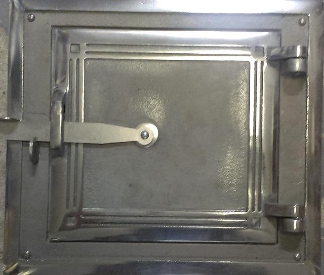 Drzwiczki kuchenne pojedyncze chromo-nikiel