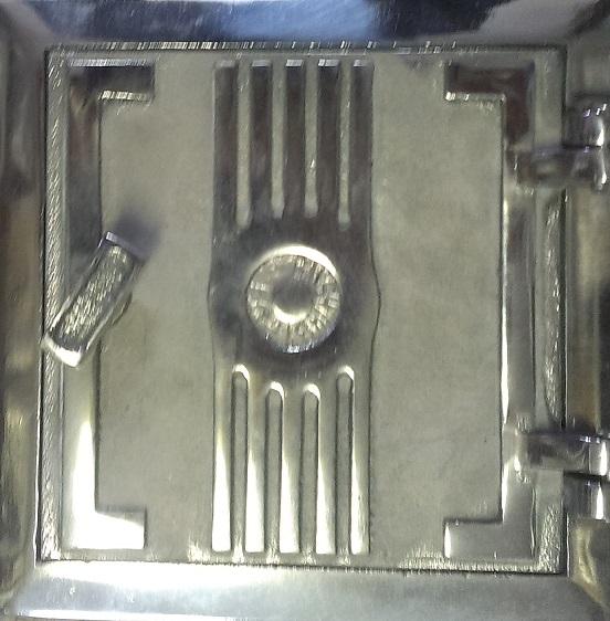 Drzwiczki wyczystki 14x14 chromo-nikiel