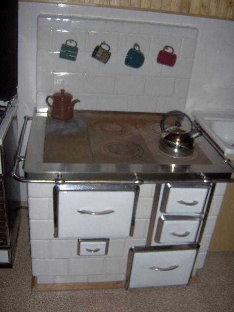 Kuchnia wolnostojaca biala