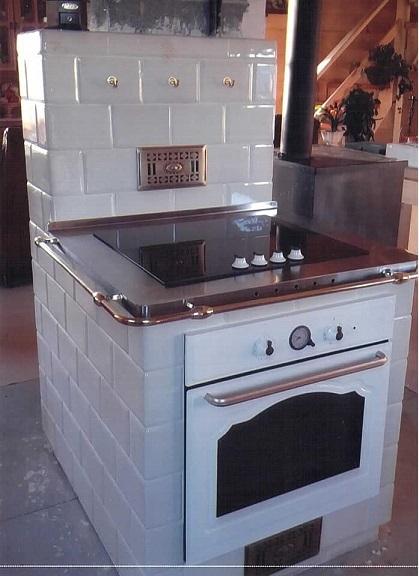 Kuchnia z indukcją 2 kwadratele 195 x 130