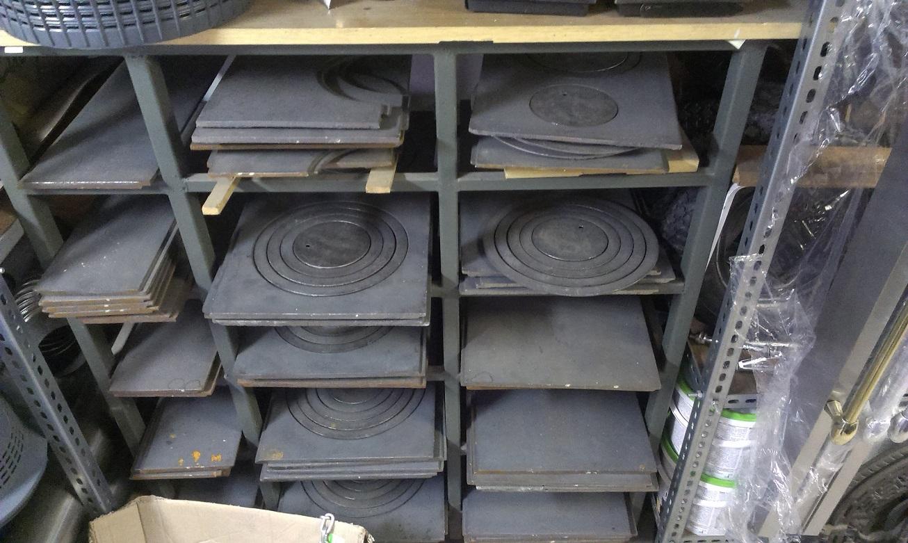 Sklad plyt kuchennych