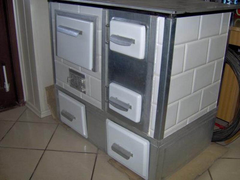Kuchnia przenosna szafkowa biala